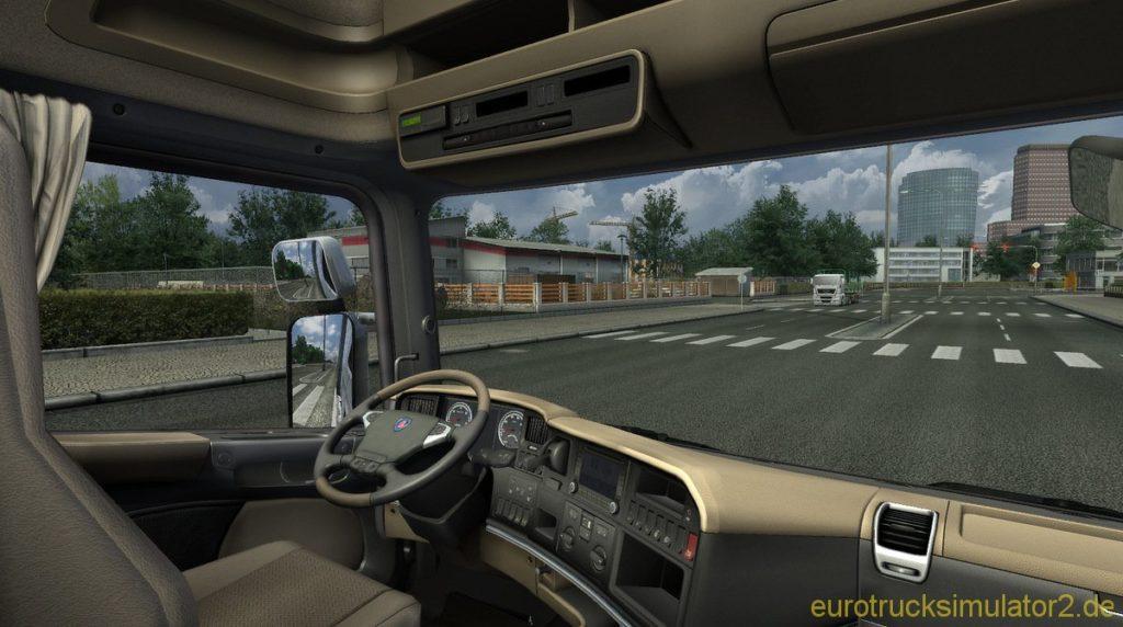 Work in Progress: Scania Interior