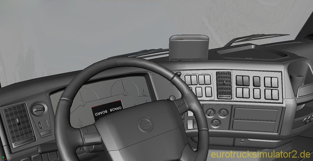 Work in Progress: Volvo FH16 Interior