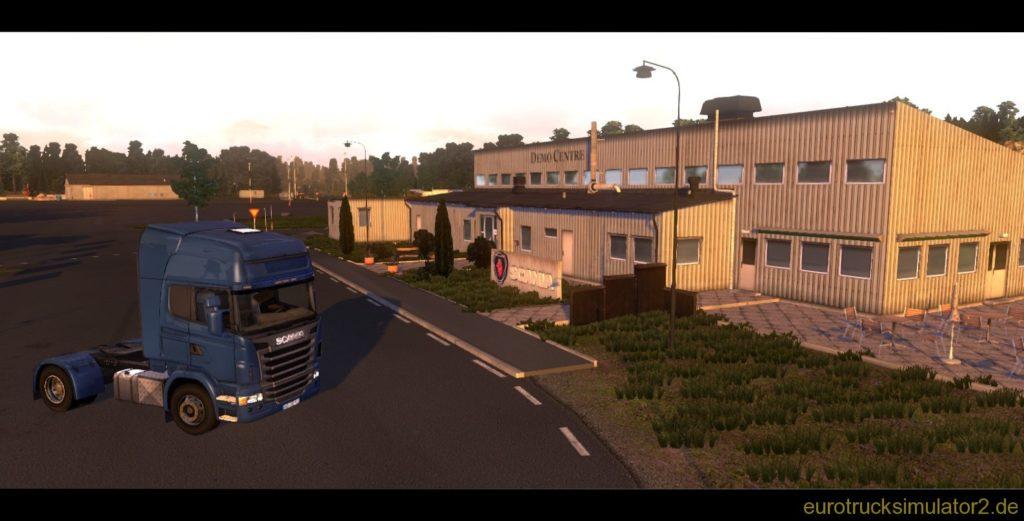 Scania Demo Centre