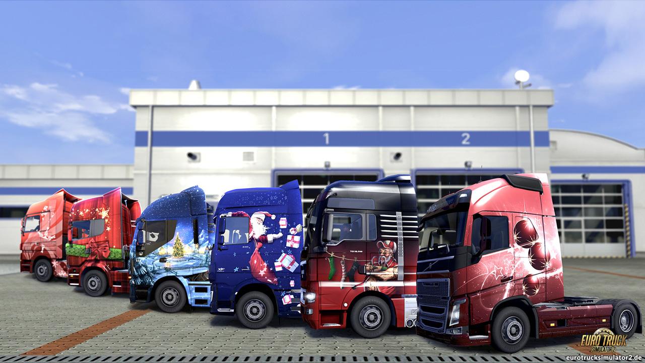 Weihnachten – Euro Truck Simulator 2