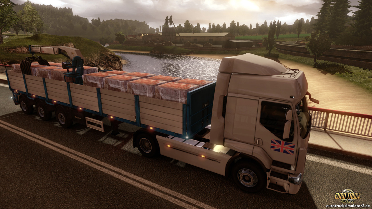 vereinigtes k nigreich euro truck simulator 2. Black Bedroom Furniture Sets. Home Design Ideas