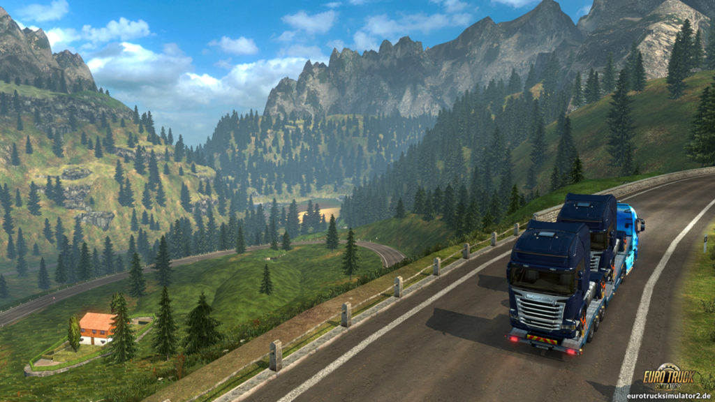 Durch die Schweizer Alpen