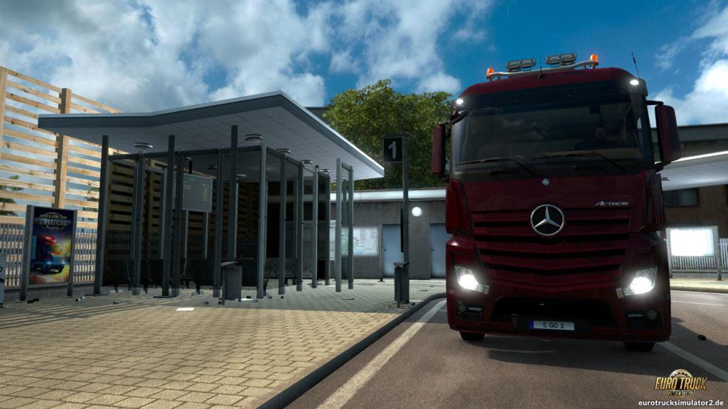 ATS, das Bus-Projekt und der ETS2 nebeneinander :)