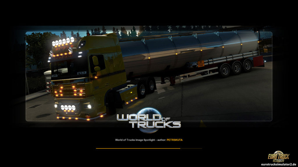 Ladebildschirme aus der World of Trucks-Community