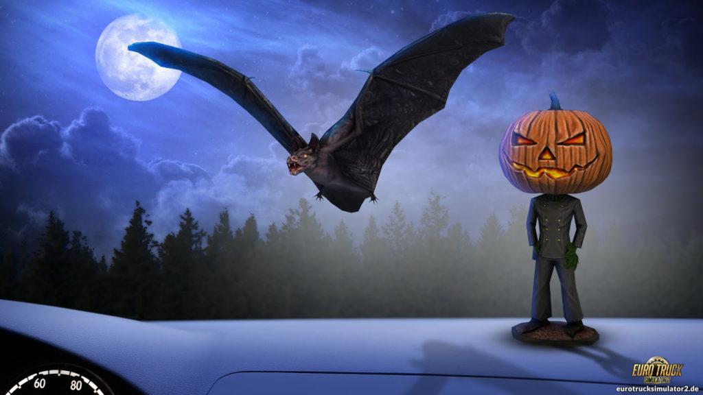 Halloween-Atmosphäre fürs Interior