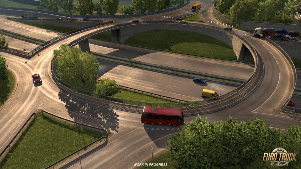 Komplexe Straßenstrukturen