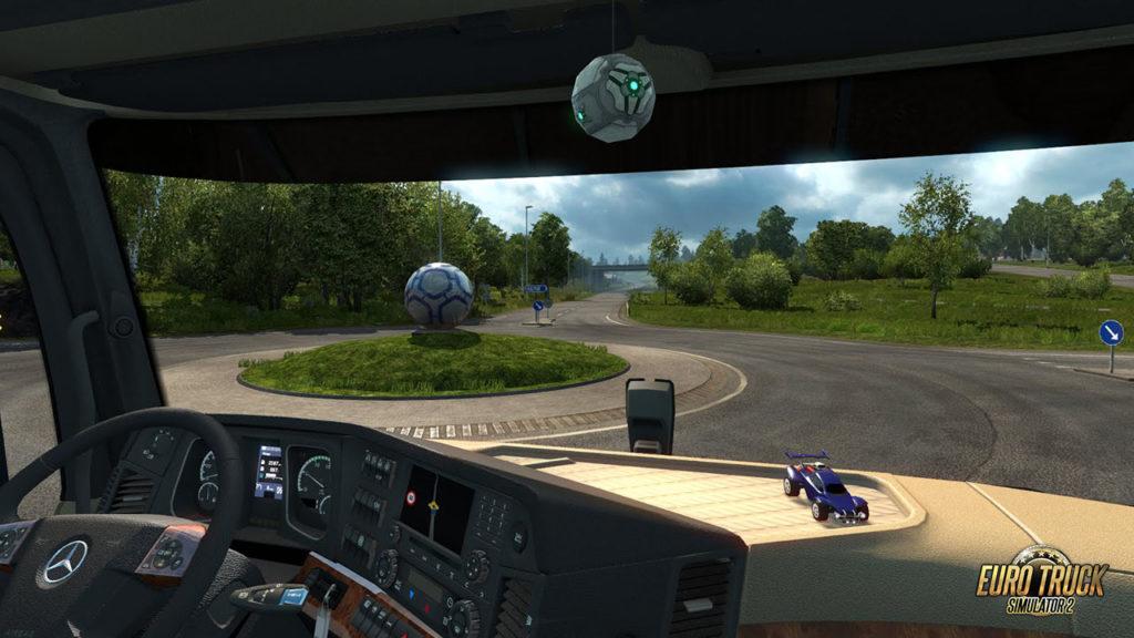 Rocket League im ETS2