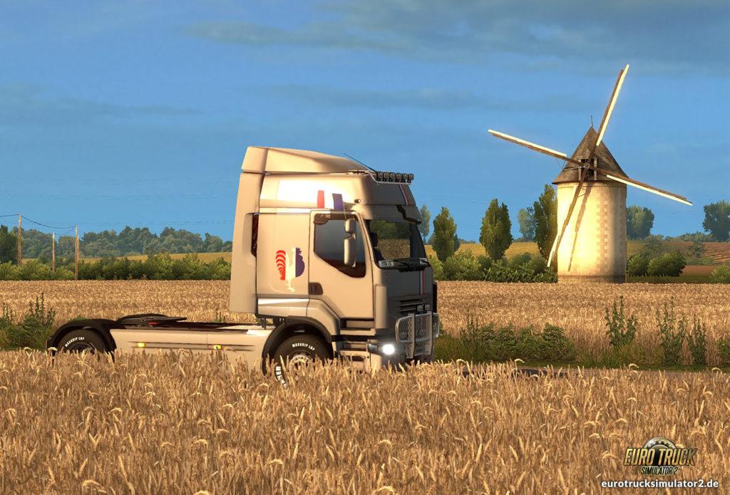 ETS2 Frankreich Windmühle Truck