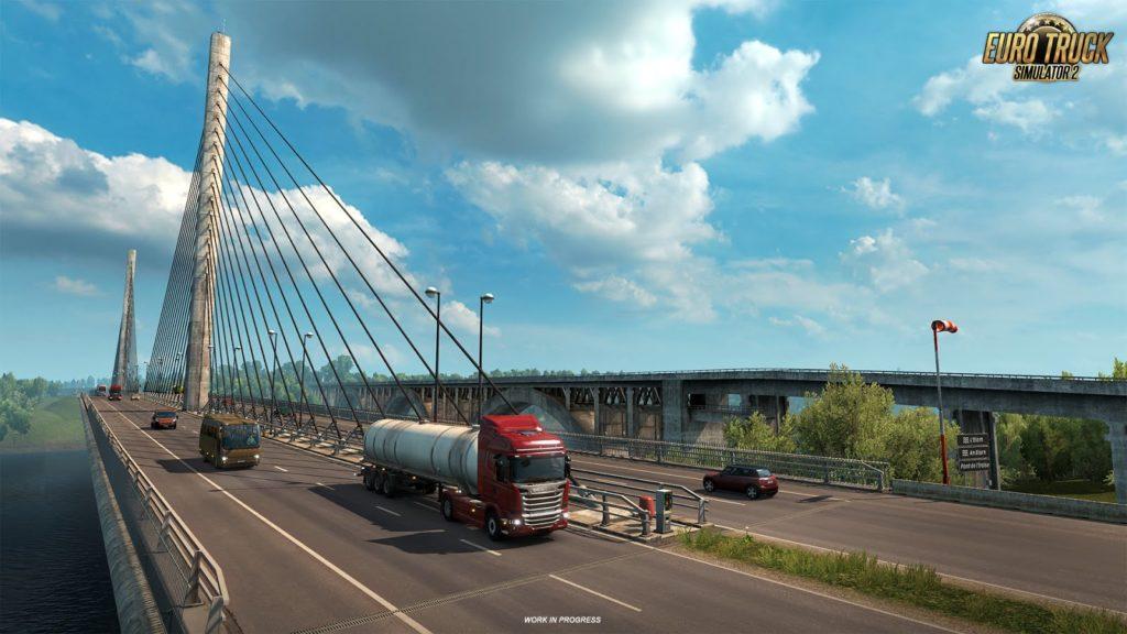 Brücke in Frankreich