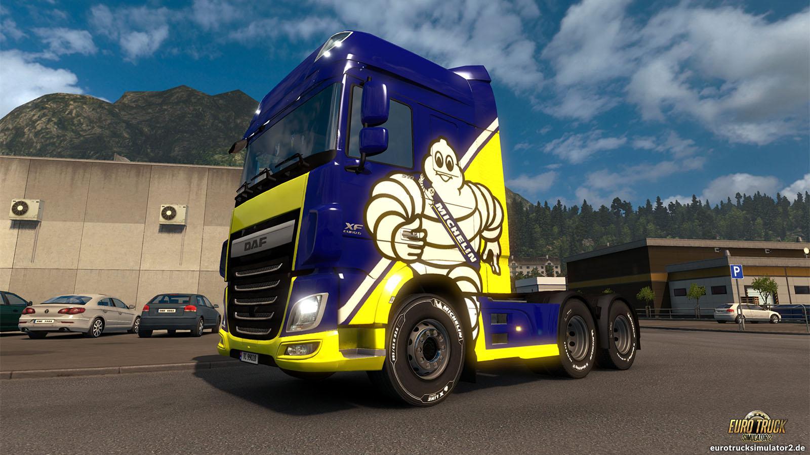 michelin fan pack euro truck simulator 2. Black Bedroom Furniture Sets. Home Design Ideas