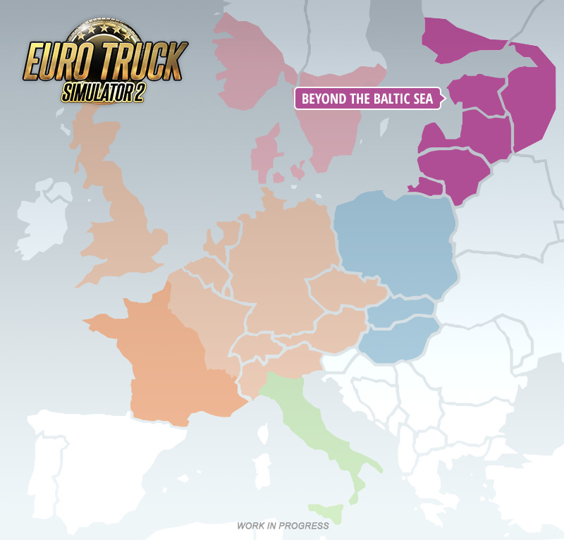 Alle ETS2-DLCs im Überblick einschließlich den baltischen Staaten