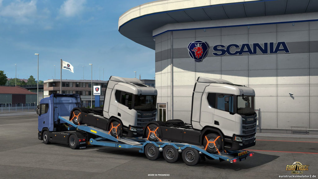 Scania in Update 1.32
