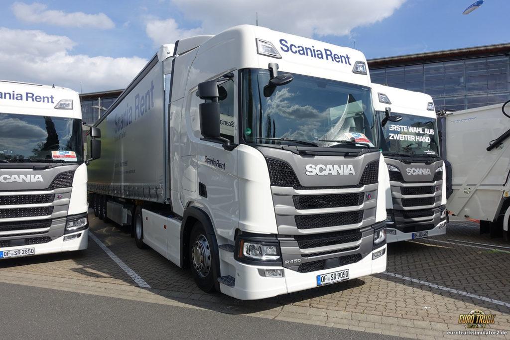 ...oder mit einem Scania-LKW durch Hannover fahren