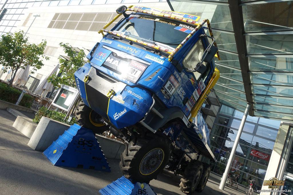 ...genauso wie Renn-Trucks