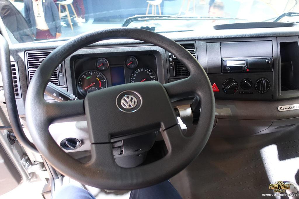 Einmal im VW-LKW sitzen...