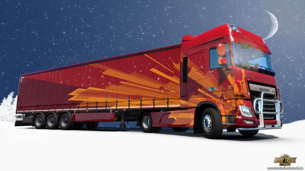 ETS2 Belohnung vom Weihnachtsmann für Deine Hilfe
