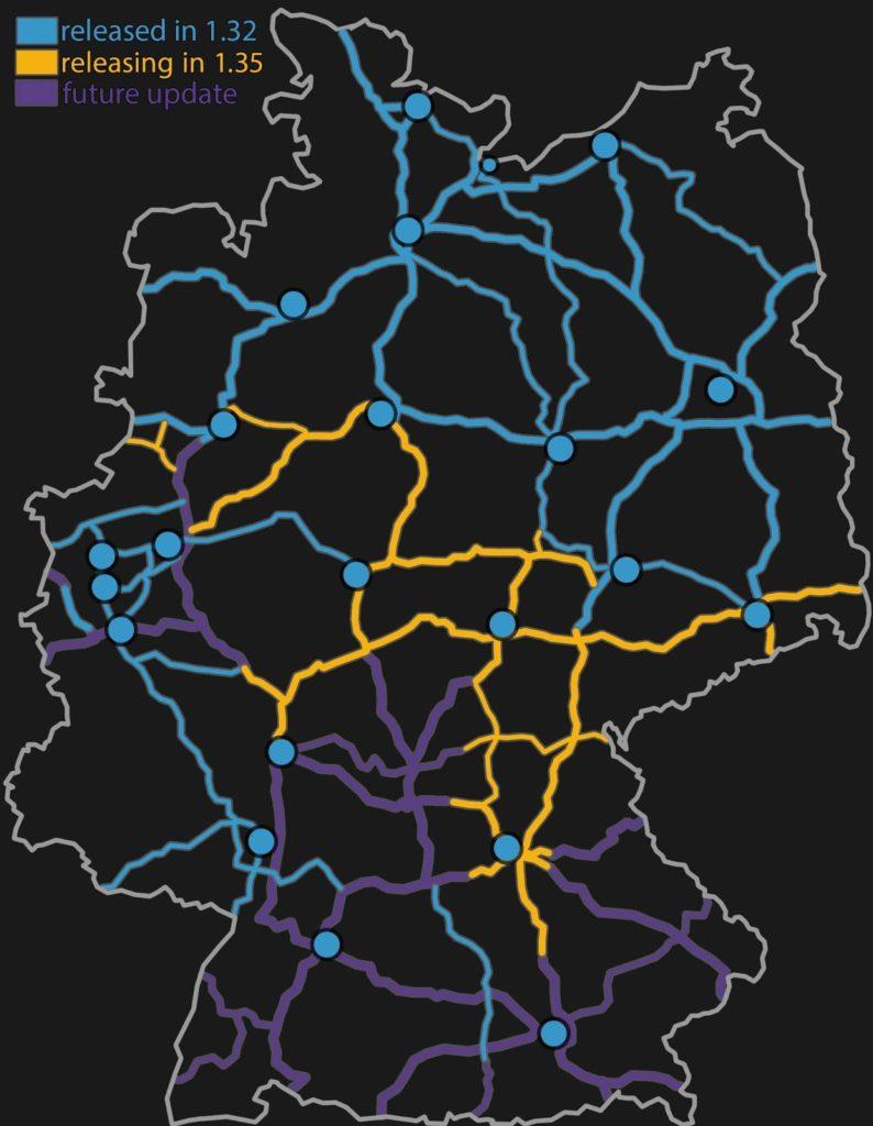 Überarbeitungsabschnitte in Deutschland