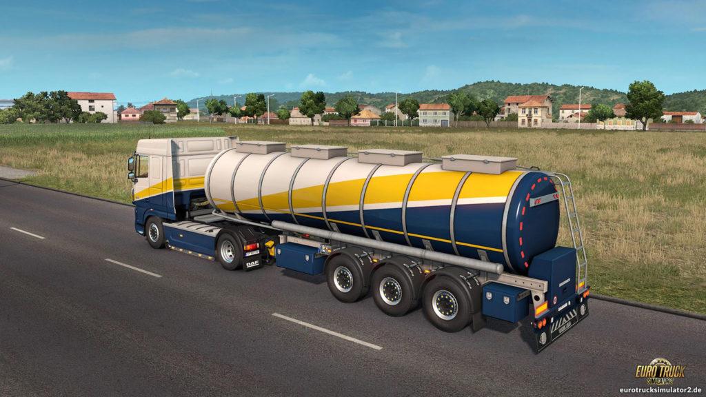 Lebensmittel-Tanker im ETS2