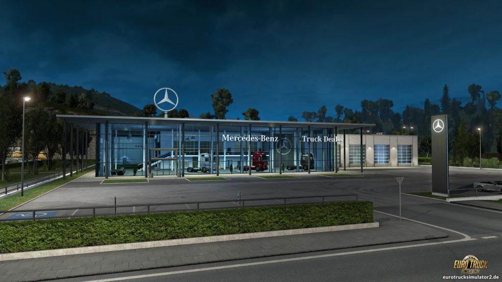 Neuer Mercedes Benz-Händler
