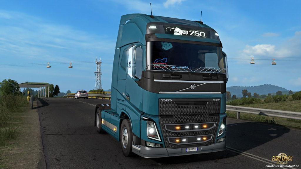 Neue Teile für den Volvo FH