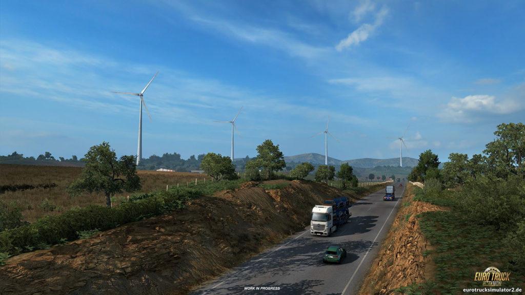 Energiegewinnung auf der iberischen Halbinsel