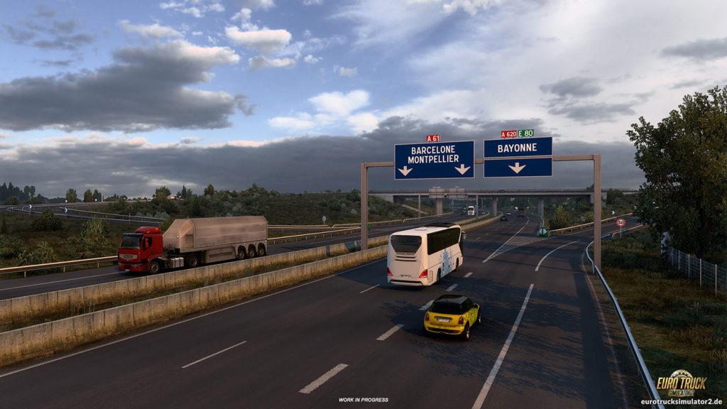 Südfrankreich bekommt einige neue Straßen