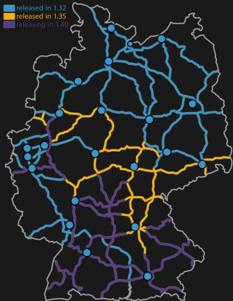 Deutschland-Ausbau im Überblick